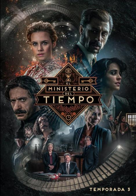 Poster de la 3a Temporada de El ministerio del tiempo