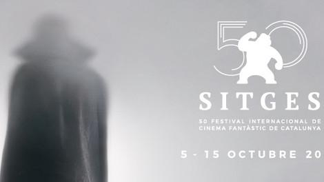 Cartel de la 50ª edición del Festival Internacional de Cine Fantástico de Catalunya
