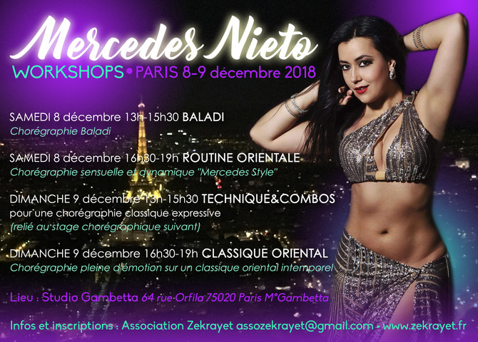 WORKSHOPS avec Mercedes Nieto
