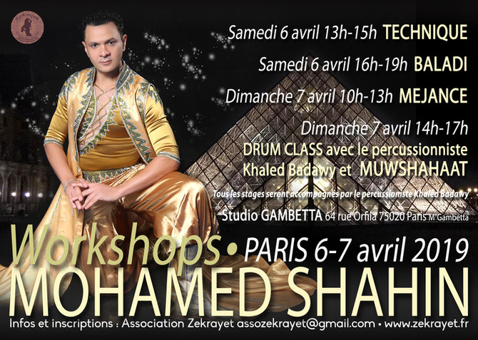 Stages avec Mohamed Shahin