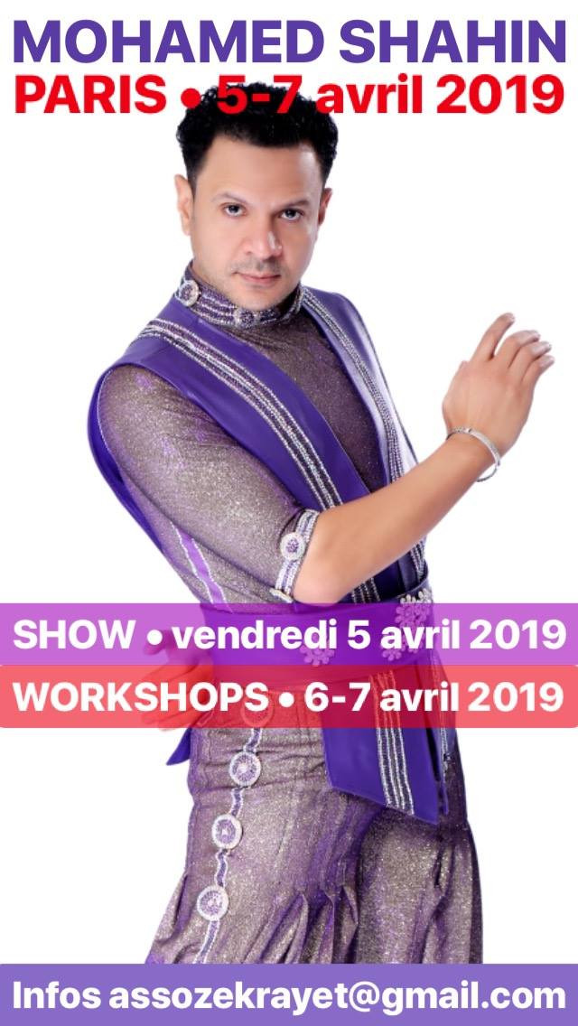 Week-end avec Mohamed Shahin 5-7 avril