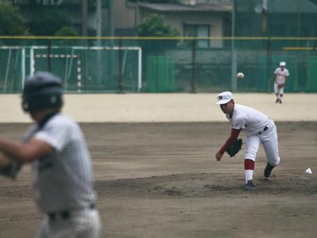 北条高校と練習試合を行いました。
