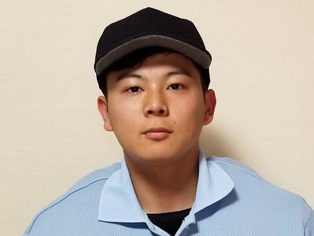 愛媛県高校野球審判員に  川本貴大君(114期)が就任しました。