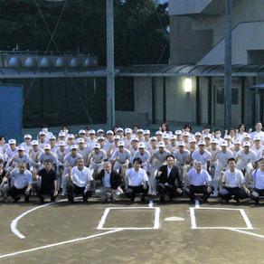 愛媛県夏季高校野球大会 激励式を開催しました。