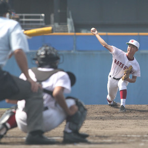 愛媛県夏季高校野球選手権大会開幕 初戦突破しました。松山商7-6松山城南
