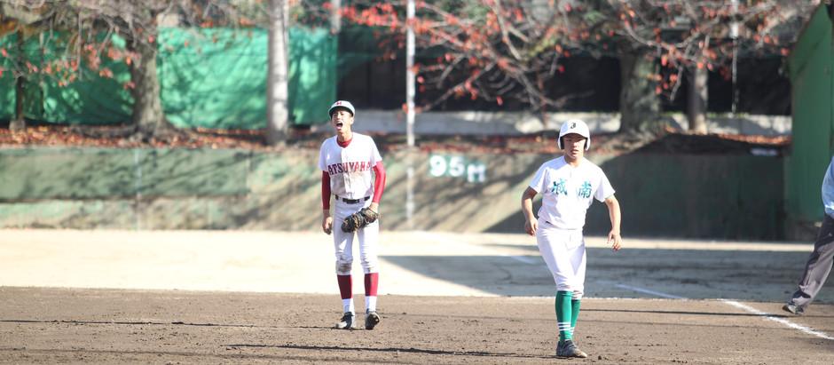 【今期最終練習試合】松山商VS 松山城南