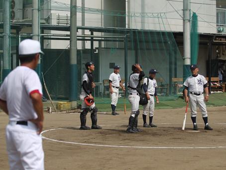 澤田勝彦監督、北条高校に就任以来初の松山商での試合でした。