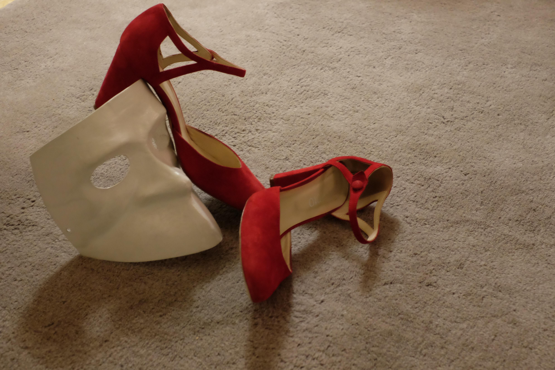 Le scarpe rosse di Lucia