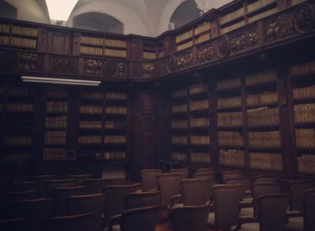 Reading at Palazzo Strozzi 6.4.14