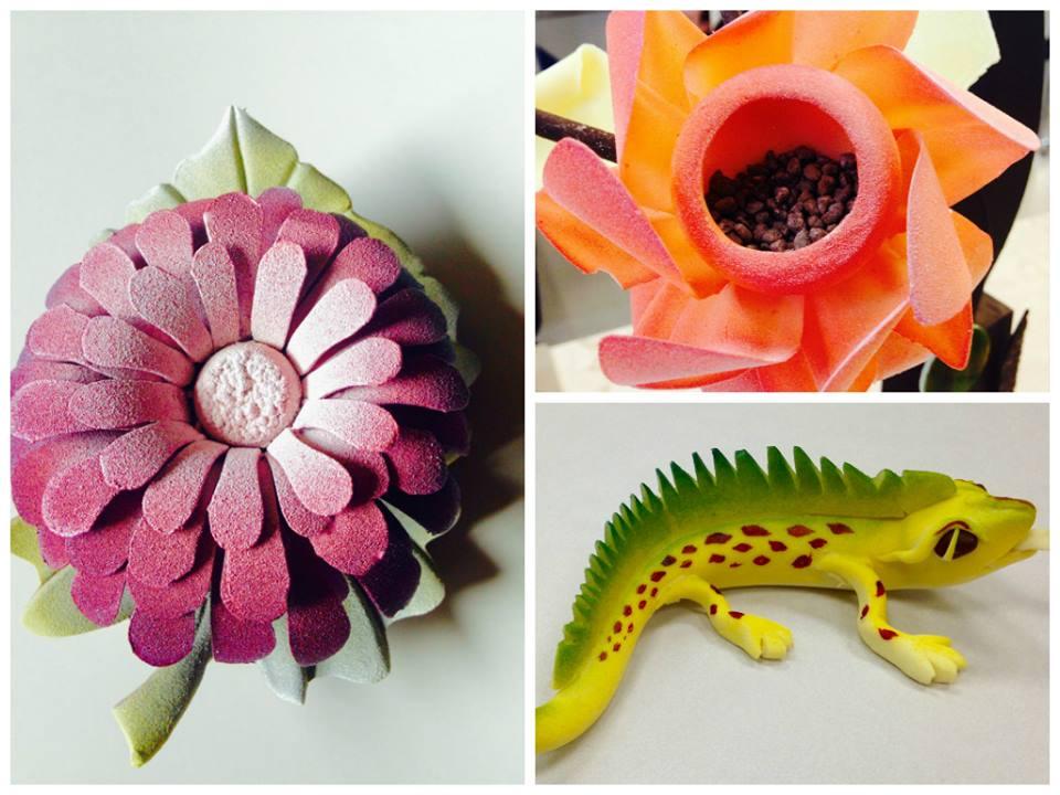 Flower, Lizard
