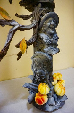 Halloween Chocolate Showpiece
