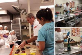 Award-winning Chef Ewald Notter visits EdCC culinary program