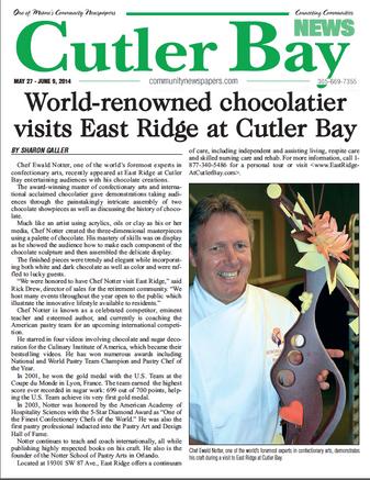 Cutler Bay Newspaper article