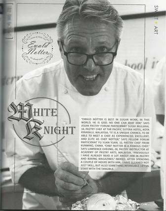 """The White Knight"" Cuisine & Wine, Asia"