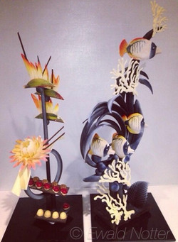 Hawaii Chocolate Showpiece