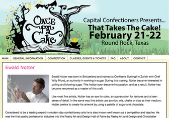 Capital Confectioners Presents...Once upon a Cake, featuring Ewald Notter