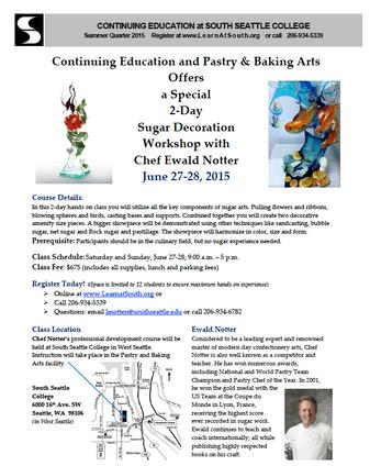 Sugar Decoration Workshop