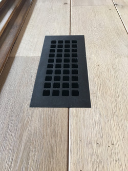 routered in metal vent cover