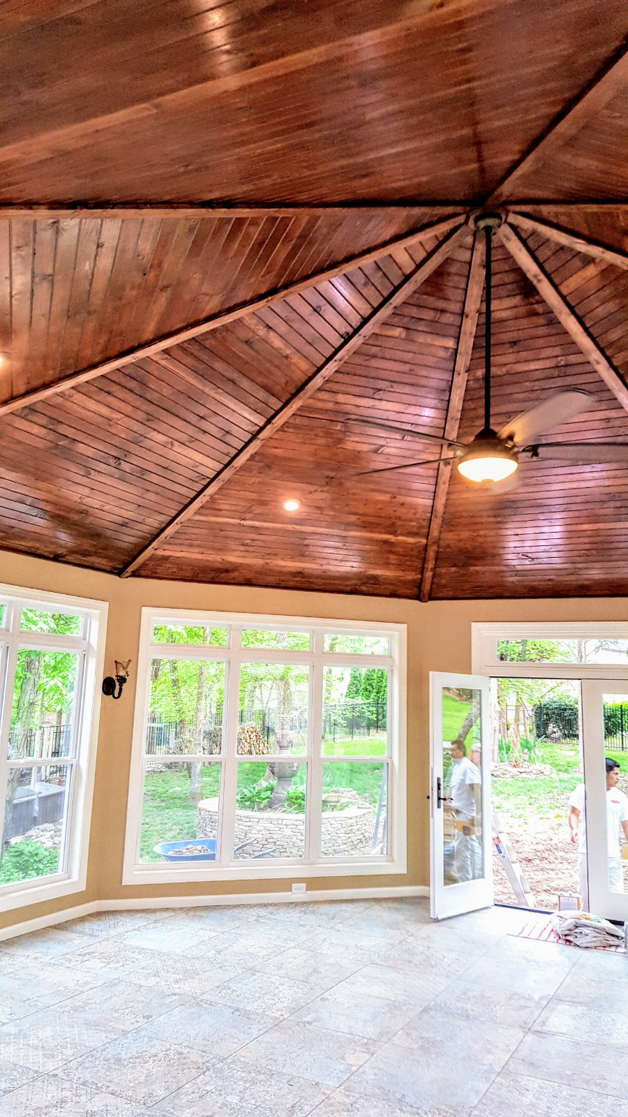 Octagon Sunroom