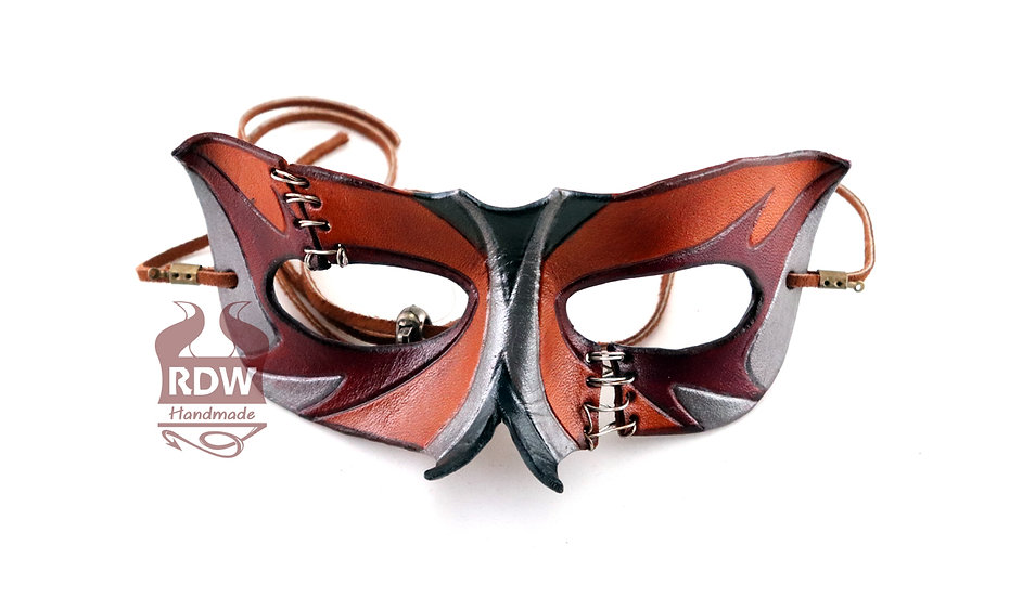 Stitched Leather Mask