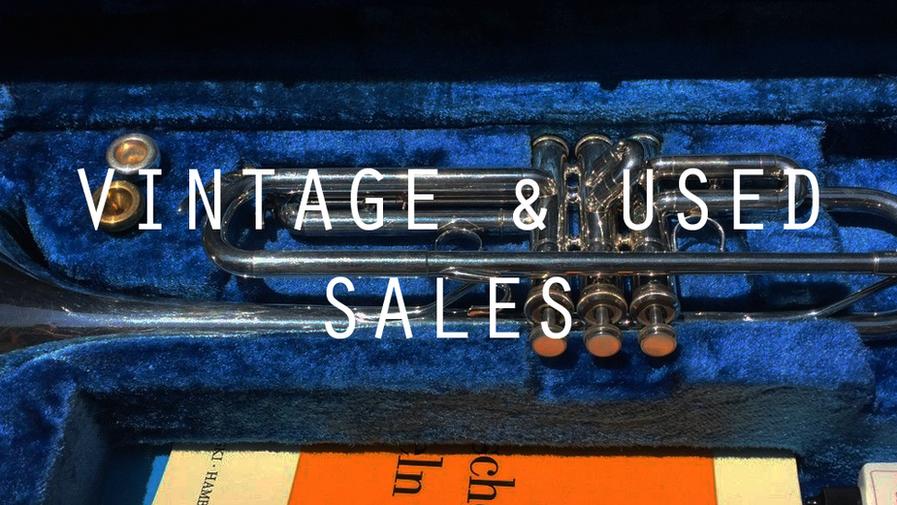 Vintage and Used Sales