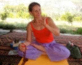 Ann Marie Newland of Sun Power Yoga