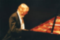 Janusz, pianist, at the Jersey Opera Hou