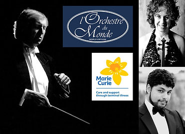 LODM concert for Marie Curie
