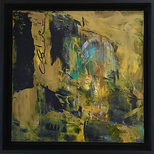 Juane Opus 1 by Anne Cotter                          Cold Wax and Oil 13.5x13.5
