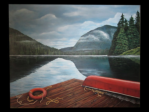 Tranquility by Patty Cunningham                  Acrylic 30x24
