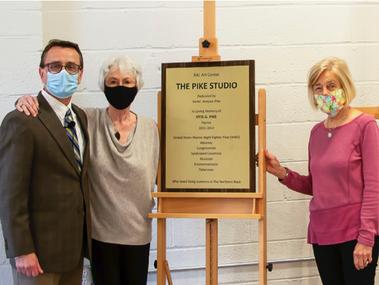 RAL Art Center Dedicates The Pike Studio