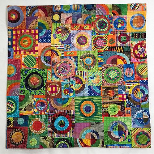 Carnival by Martha Gilbert                                 Fiber 26x28