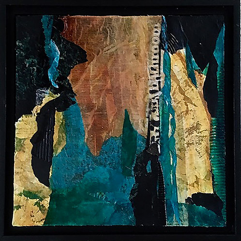 Ambon by Anne Cotter                                    13.5x13.5 Collage