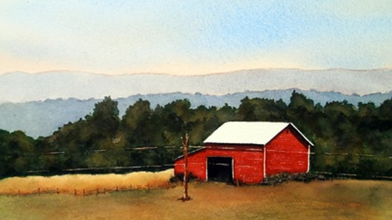 Adult Workshop: Watercolor Painting for Beginners - Class #3