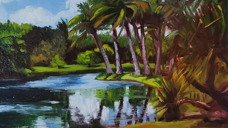 Workshop: Impressions:  Painting the Garden  3-Day Class:  Mondays, Sept. 13, 20, 27, 2021