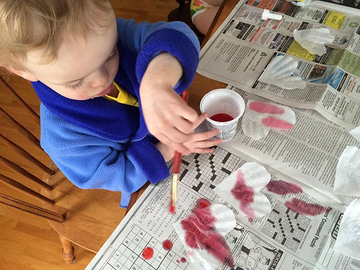 valentine's day craft toddler preschool coffee filter heart things to do kids family moncton