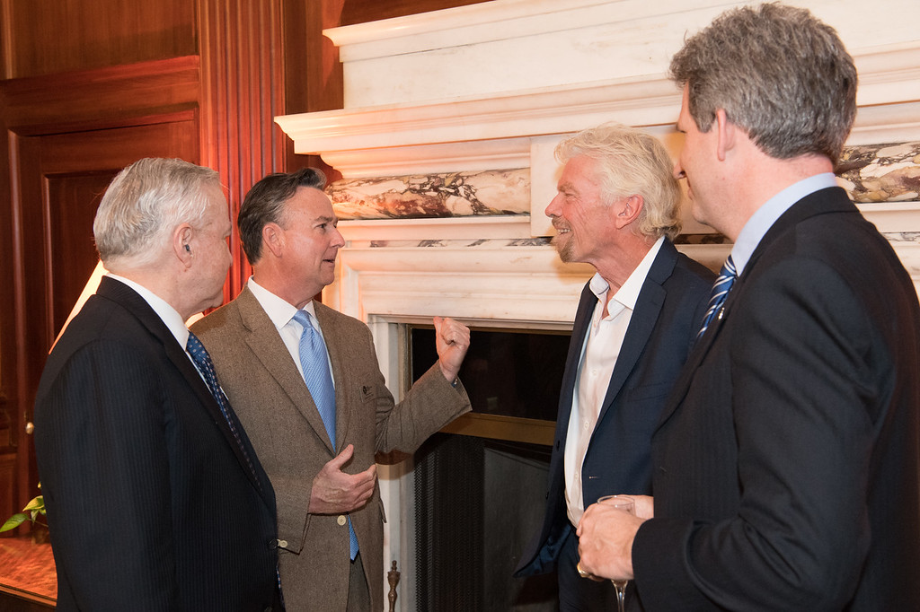 Duetto Group President Shawn Bullard with Sir Richard Branson
