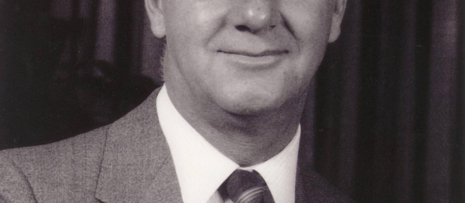 Honoured Member Robert (Bob) J. McGhee Passes Away