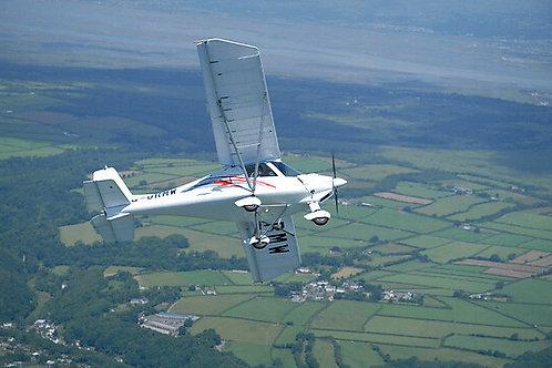 60 minute ultralight flight