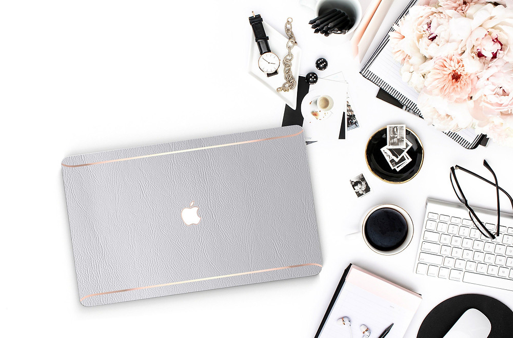 Stock photo of laptop for bloggers or business owners