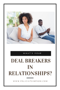 Black couple on the verge of breaking up.
