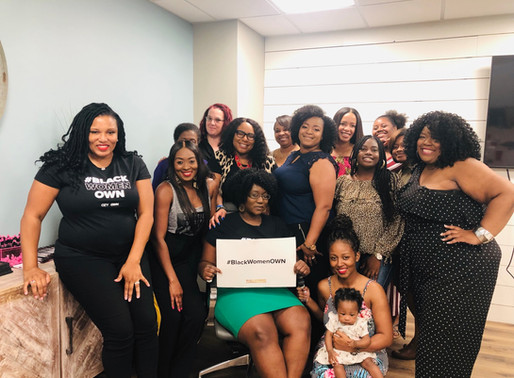 Black Women OWN the Conversation Viewing Party Recap
