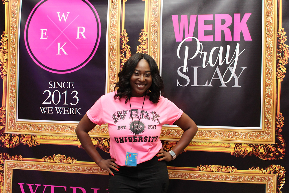 Attendee at Werk Pray Slay Conference 2019