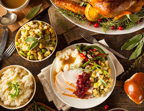 My Top 5 Favorite Foods to Eat on Thanksgiving Day