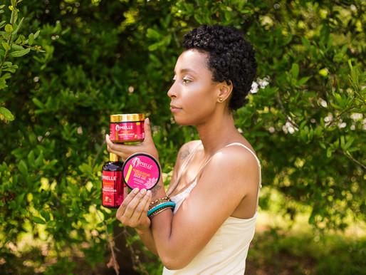Twist-Out Using Mielle Organics Pomegranate & Honey Twisting Souffle'
