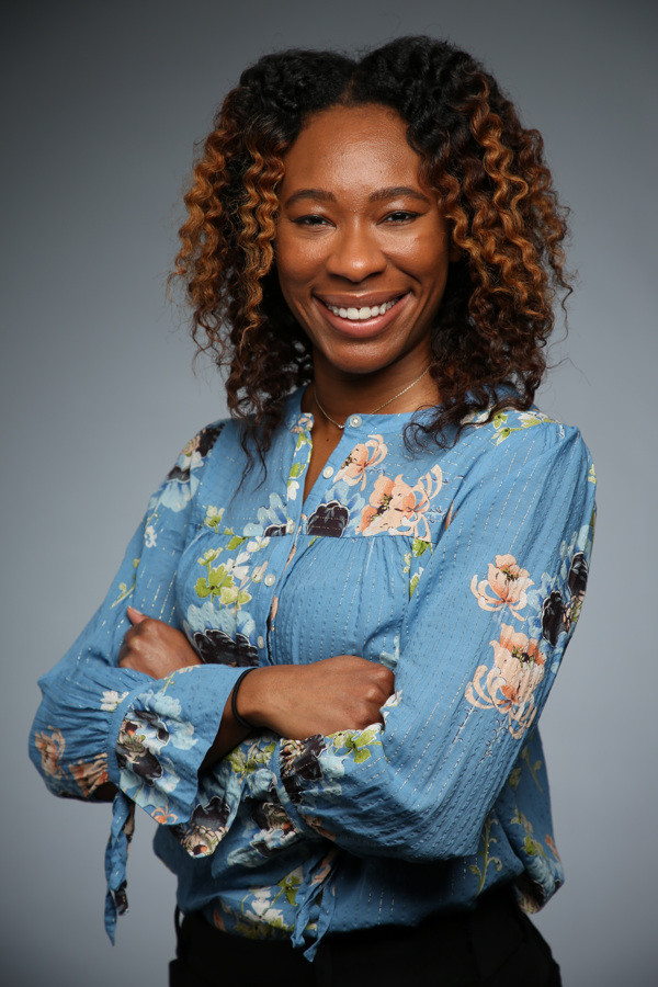 Black woman professional headshot.