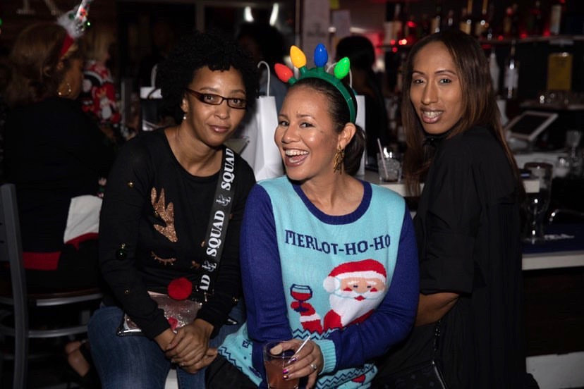 Ugly sweater + girls night out event