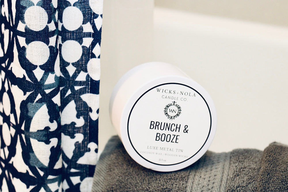 Wicks + NOLA Brunch & Booze candle