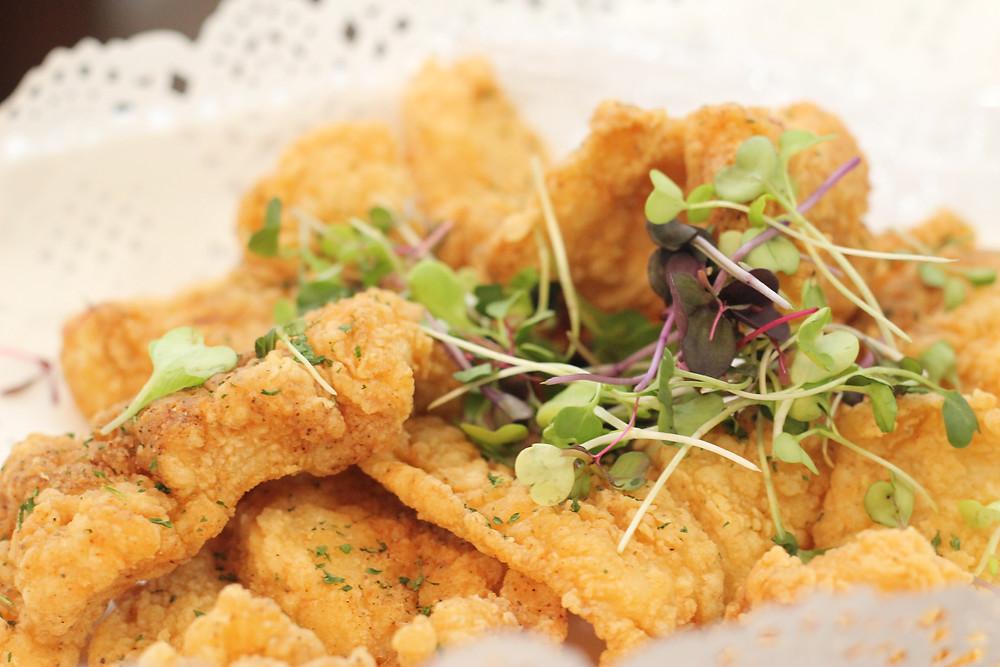 Fried Blackend catfish