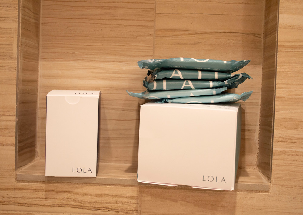 Image of LOLA period products.
